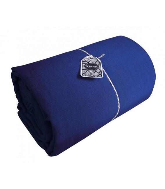 drap plat en lin lav coloris orient pressing de la cote. Black Bedroom Furniture Sets. Home Design Ideas